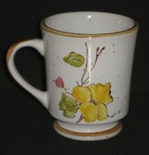 Stonecrest 904 Spring Time Coffee Mug Cup Yellow Floral 7 Oz #DH24
