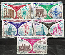Central African Republic Olympic Sport History set Munich 1972