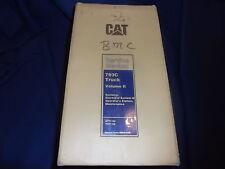 Cat Caterpillar 793C Truck Service Shop Repair Manual S/N Aty 4Gz Volume Ii