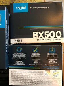 Ssd Crucial 480 GB BX500 neuf en carton
