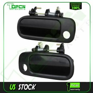 Fits 1992-1996 Toyota Camry Outside Door Handle Front Left & Right Hand Black