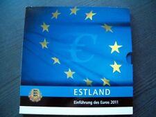 Serie KMS Euro Estland 2011 - 1 cent - 2 Euro
