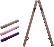 10Ft Wooden Base Folding Floor Gymnastics Balance Beam Gymnastic with Grip Suede