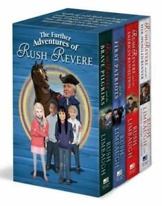Box Set 4 Books The Further Adventures of Rush Revere Brave Pilgrims First Pat..