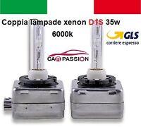 Coppia lampade bulbi kit XENON BMW  X3 D1S 35w 6000 lampadina HID fari