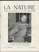 █ Revue LA NATURE n°3271 Induction embryonnaire à l'induction pathogène █