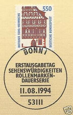 BRD 1994: Rathaus Suhl-Heinrichs SWK Nr 1746 mit Ersttagssonderstempel! 1A 1608