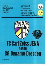 OL 89/90 FC Carl Zeiss Jena - SG Dynamo Dresden (RS-B)