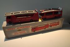 dinky toys 983 - Transporter GIFTSET (984 + 985) - boxed - red