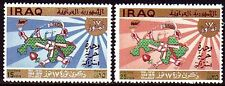 Irak Iraq 1970 ** Mi.621/22 Juli July Revolution Hände Hands Mauer Wall