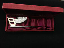 silver plated bentley letter opener