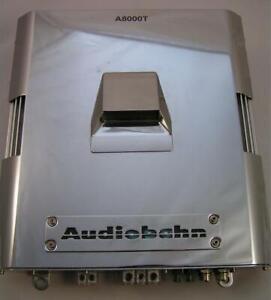 Audiobahn A8000T Mono-Block Bass Mono Subwoofer Car MOSFET Power Amplifier EXC