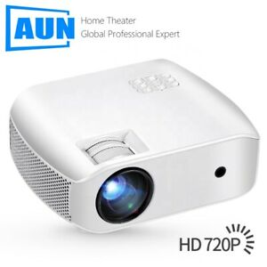 AUN F10 MINI Projector  1280*720P, LED Proyector for 1080P 3D Home Cinema