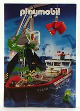 2005 Playmobil TITAN SHIP COVER BOOKLET / CATALOG - 39 pages - Brand new! 4472