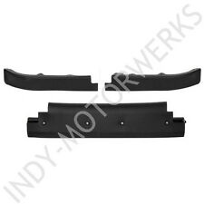 C5 FRONT AIR LOWER SPOILER 3 PIECE KIT CORVETTE 97-04 COUPE CONVERTIBLE ZO6 NEW
