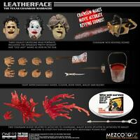 "Mezco ONE:12  The Texas Chainsaw Massacre (1974) Leatherface 6"" FIGURE PRESALE"