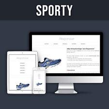 SPORTY - Auktionsvorlage Verkaufsvorlage eBay Template Ebayvorlage Vorlage HTTPS