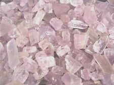 Kunzite crystal all natural Afghanistan lite pink/clear 1 ounce lots 8-16 piece