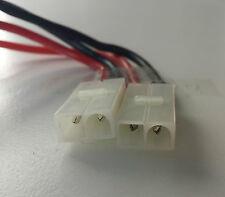 2x TAMIYA - Stecker Kabel 2,5qmm ca. 14cm Kabel, Steckverbinder verpolsicher