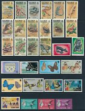 Solomon Islands Mint Hinged page of various sets to $5.00.