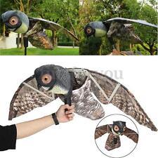 Prowler Owl With Moving Wing Garden Scarecrow Predator Decoy Pest Scarer Bird