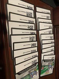 20 Digital Codes Unclaimed (may Include Champions Path Etb And Dubwool v)