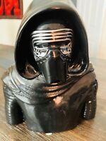 Star Wars Kylo Ren CERAMIC PIGGY COIN BANK  Pre-Owned