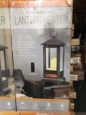 Powerheat Outdoor/Indoor Electric Lantern Heater & Light NEW, Remote Control