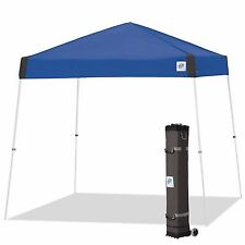 E-Z UP Vista Instant Shelter 10'x10' Canopy Royal Blue Pop Up