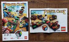 LEGO 3840 Pirate Code Board Game - Instruction + Build Manuals ONLY