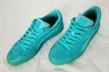 6c828cd3a7c Girls Size 7 Blue Puma Suede Classic Sneakers 357586 04 preowned