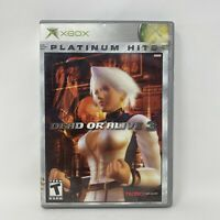 Dead or Alive 3 (Microsoft Xbox, 2001) No Manual Tested Working Tecmo