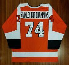 605d07b0b 1974 Stanley Cup Champions Autographed Signed Jersey Philadelphia Flyers JSA