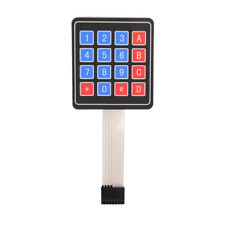 4x4 Matrix 16 Key Membrane Switch Keypad Keyboard for Arduino/ AVR/ PIC/ ARM