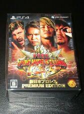 Fire Pro Wrestling World Premium Edition PlayStation 4 Japan Import Sealed