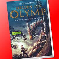 HELDEN DES OLYMP (Band 1)   DER VERSCHWUNDENE HALBGOTT   RICK RIORDAN (Buch)