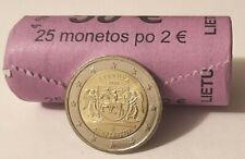 2 Euros Lituania 🇱🇹 2020 Aukštaitija. Envío YA