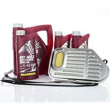 Hydraulikfilter + 7L Getriebeöl Automatikgetriebe für Audi A4 A6 VW Passat 3B