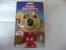 Meerkat Head Stress Ball Reliever Fun Xmas Gift Gadget Game Office Toy