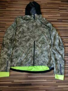 NWT's Gore Bike Wear Men's Authentic Camo Cycling Windstopper Element URB Jacket