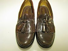 Mens G H Bass N Co. Tassel Loafers Brown Sz. 8.5D