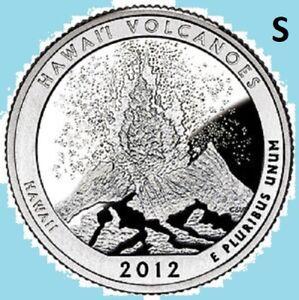 2012-S Flag Clad Hawaii Volcanoes ATB National Park Quarter PR70DCAM PCGS