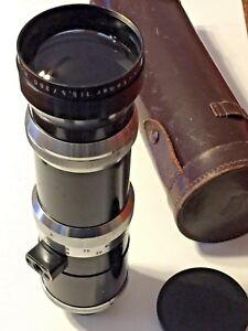 Schneider-Kreuznach Tele-Xenar 1:5.5 360mm Lens Exacta Mount Schneider Case /Cap