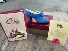 Just The Right Shoe by Raine Shoe Miniature - Class Act 25042 with Coa
