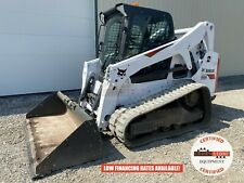 2019 Bobcat T650 Track Loader Erops 2 Speed Ride Control 62 Hrs Unsold Demo