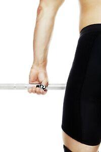 Rehband RX Line 1.5mm  Black Thumb Sleeve CrossFit Fitness Weightlifting Pair