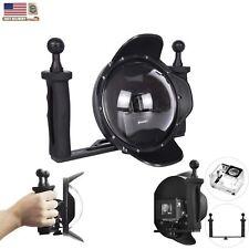 Shoot 6'' Dome Port Underwater Camera Cover Lens Handheld for Gopro Hero 3+ 4 US