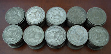 Mexico 1957-67 Lot of 100 10% Silver Peso $2.20 each Circulated
