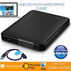 3.0 USB SATA HDD 2.5inch External Hard Drive 5GBps Enclosure Case Caddy Black UK