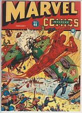 Marvel Mystery Comics #40 Coverless, but complete!